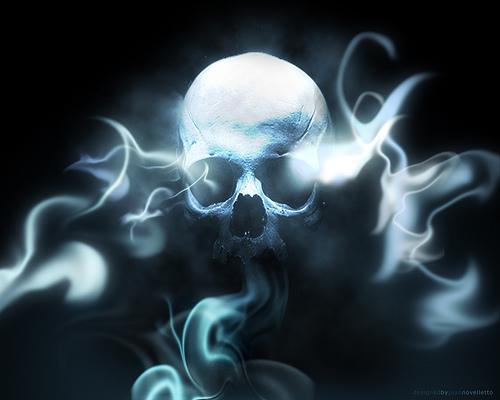 Smoking Skull   Wallpaper Flickr   Photo Sharing 500x400