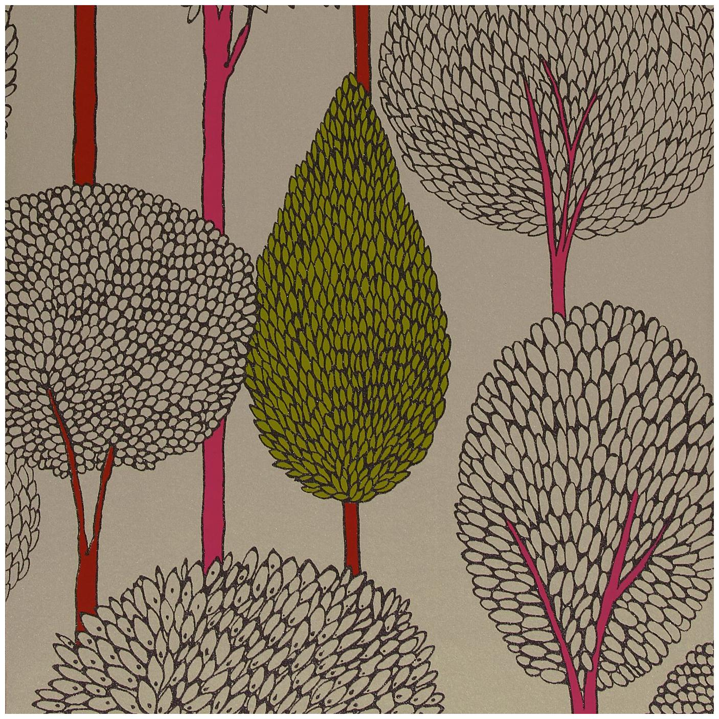 Harlequin Wallpaper Boutique Silhouette Collection 60118   Thumb 1406x1406