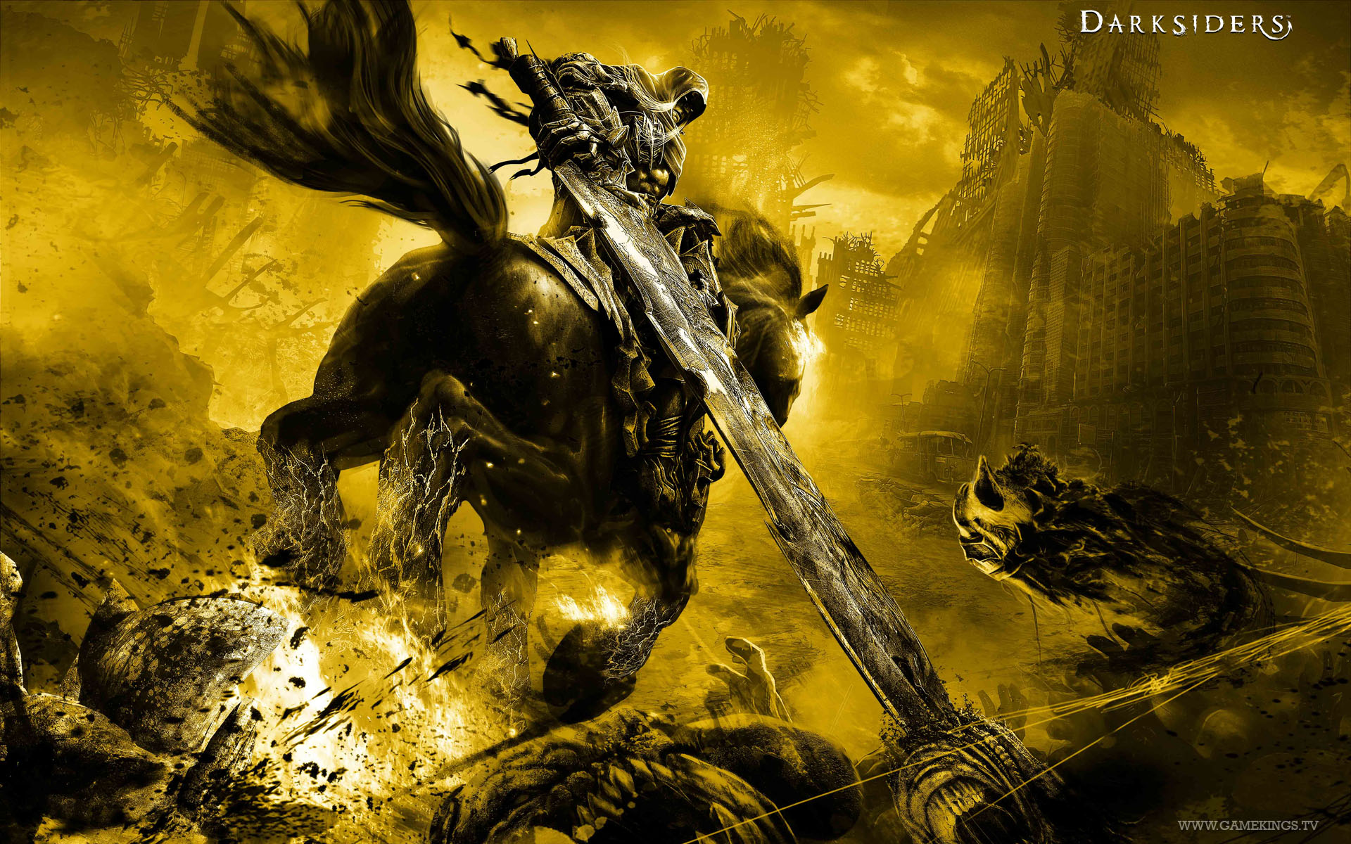 Darksiders Wallpaper 1920x1200 Darksiders 1920x1200
