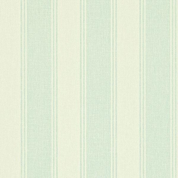 Sanderson Home Addison Stripe Wallpaper   Blue Cream 211974 600x600