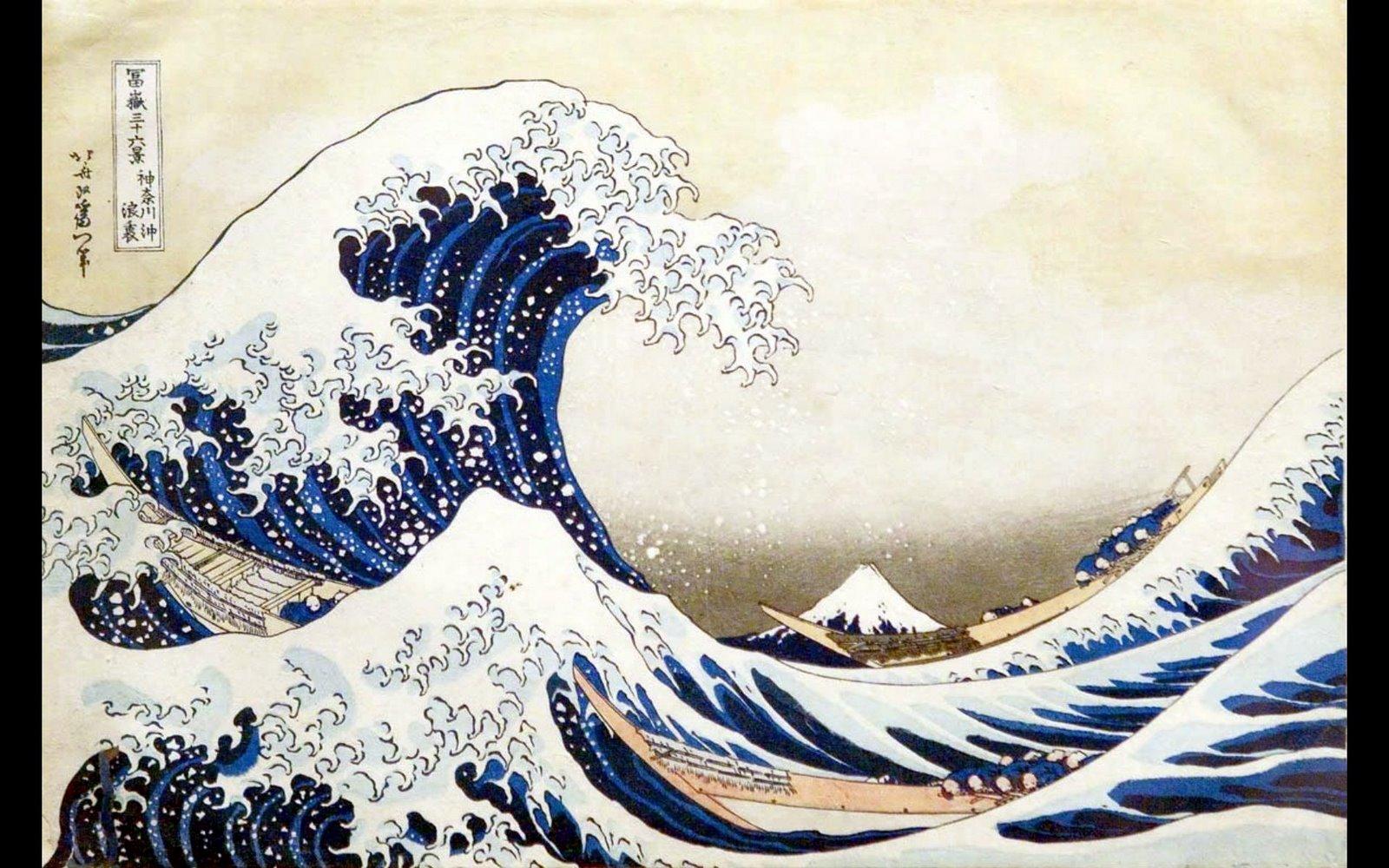 Hokusai Katsushika Wallpaper Background Widescreen Wallpapers 1600x1000