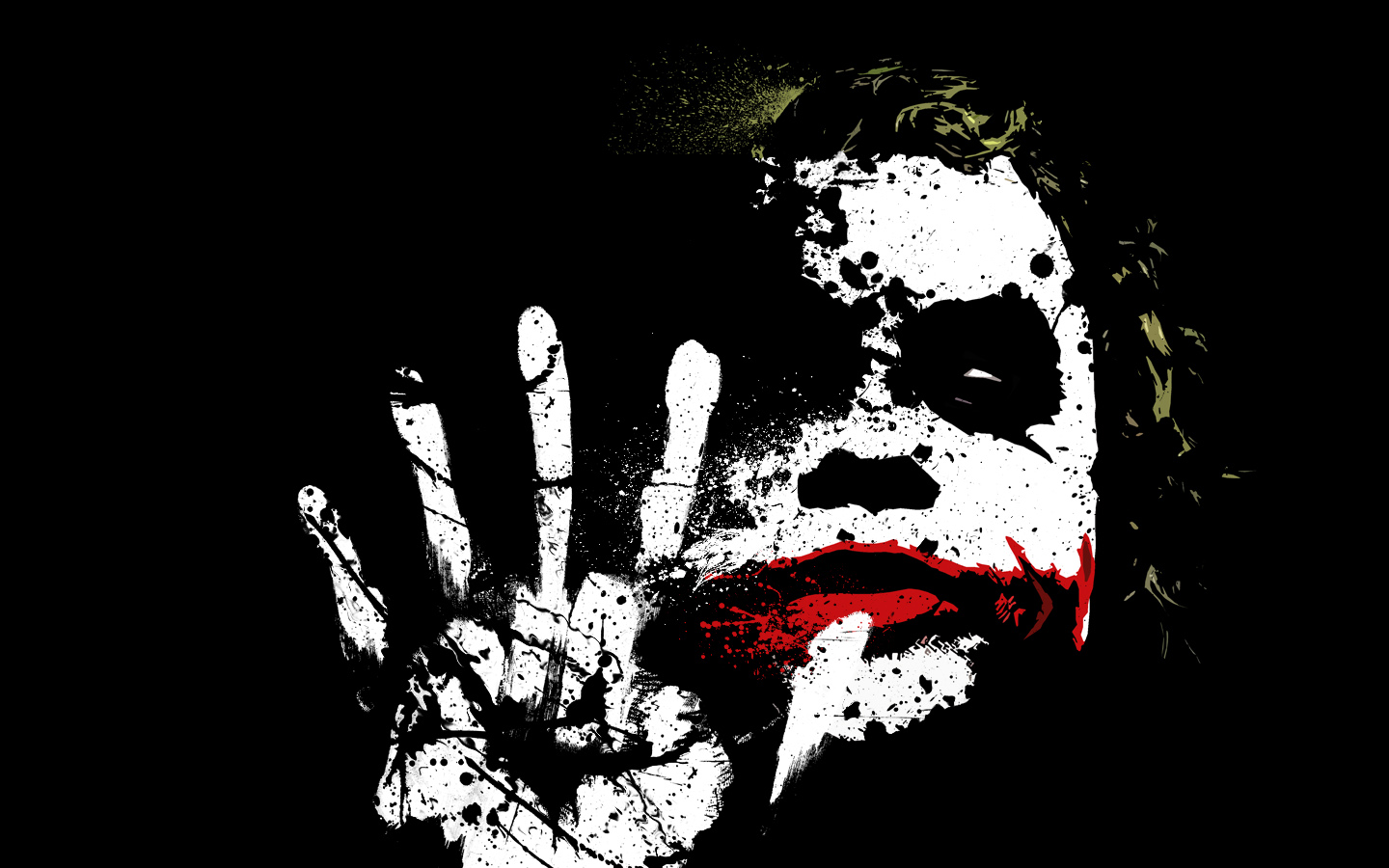 Batman The Dark Knight Joker Face Download