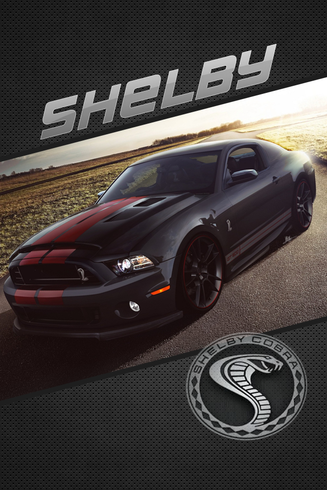 Ford Mustang Shelby GT500 Iphone 4 Wallpaper by DySands 640x960