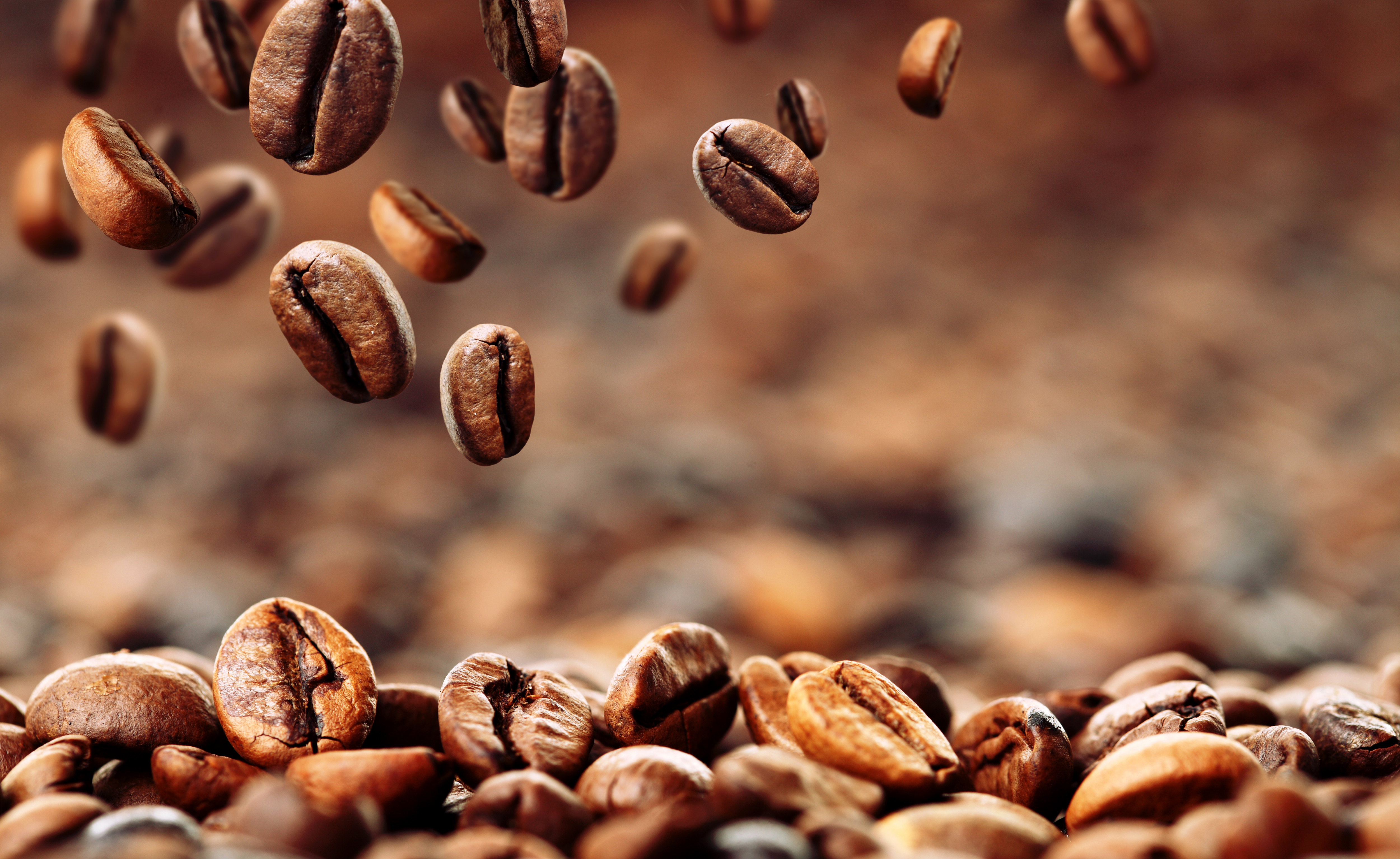 Coffee Beans Background Gallery Yopriceville   High Quality 5000x3066