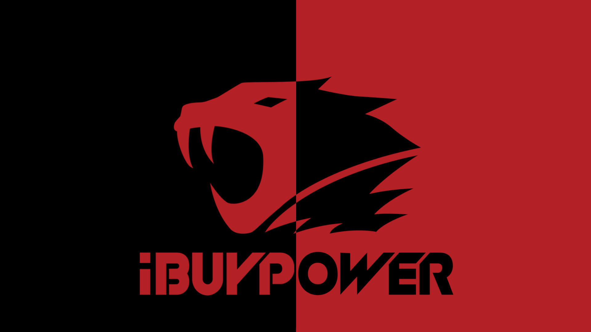 Minimalistic iBP Wallpapers Black and Red White and Red games 1920x1080