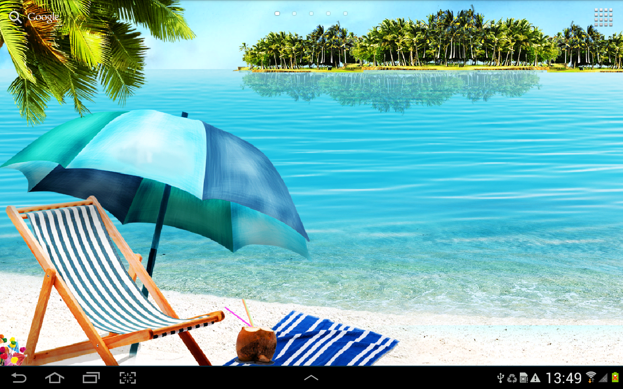 Beach Live Wallpaper   Android Apps on Google Play 1280x800