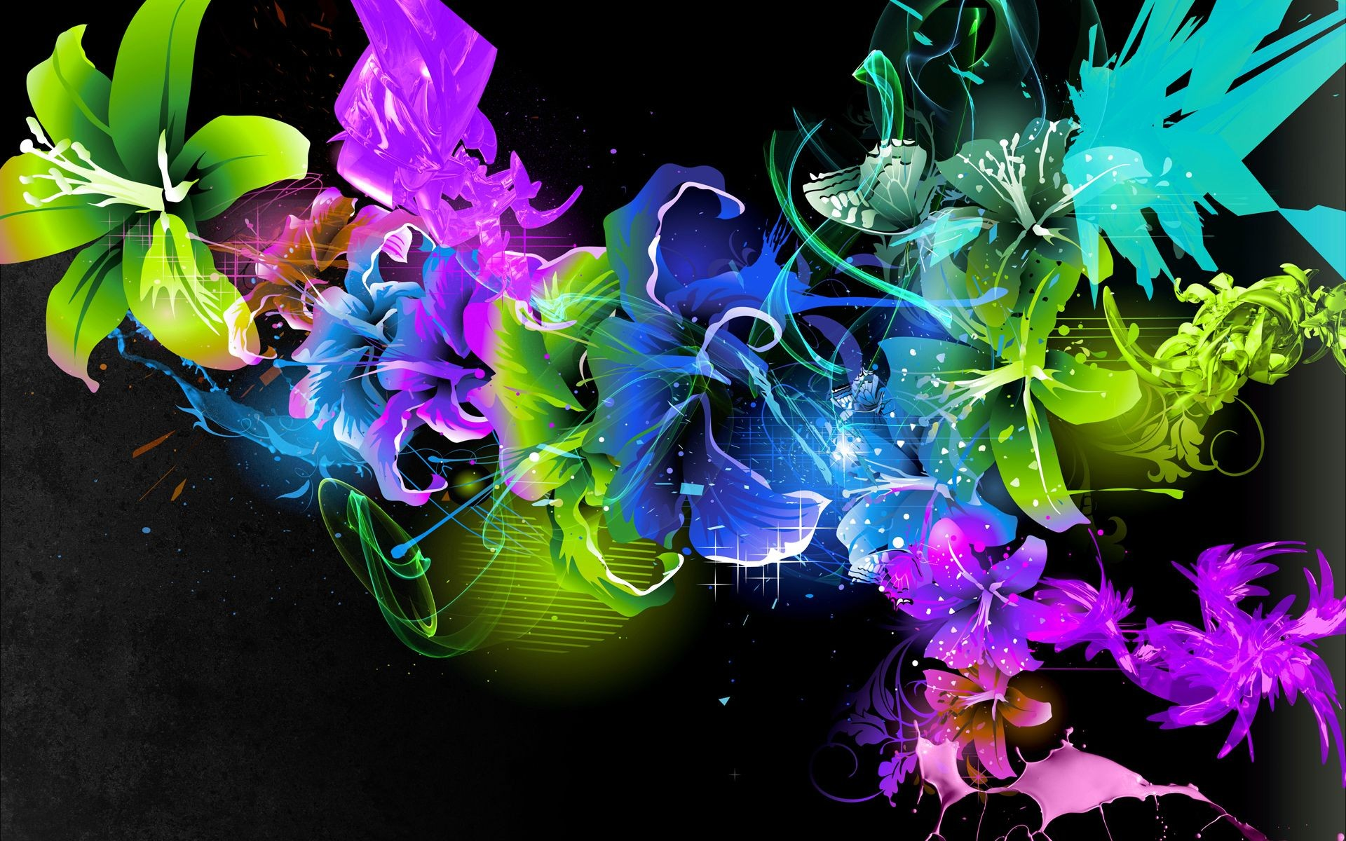 Color Abstract Wallpaper HD Wallpaper 1920x1200