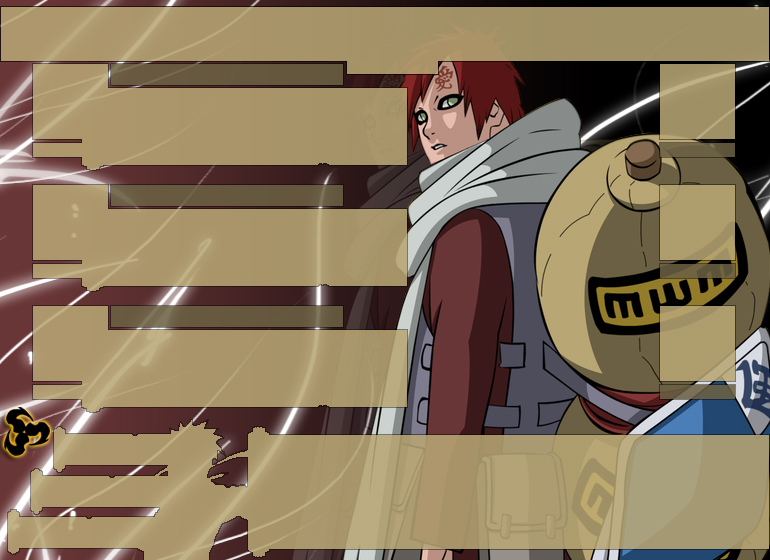 Naruto Arena Gaara Background by AtomicReset on deviantART 770x560