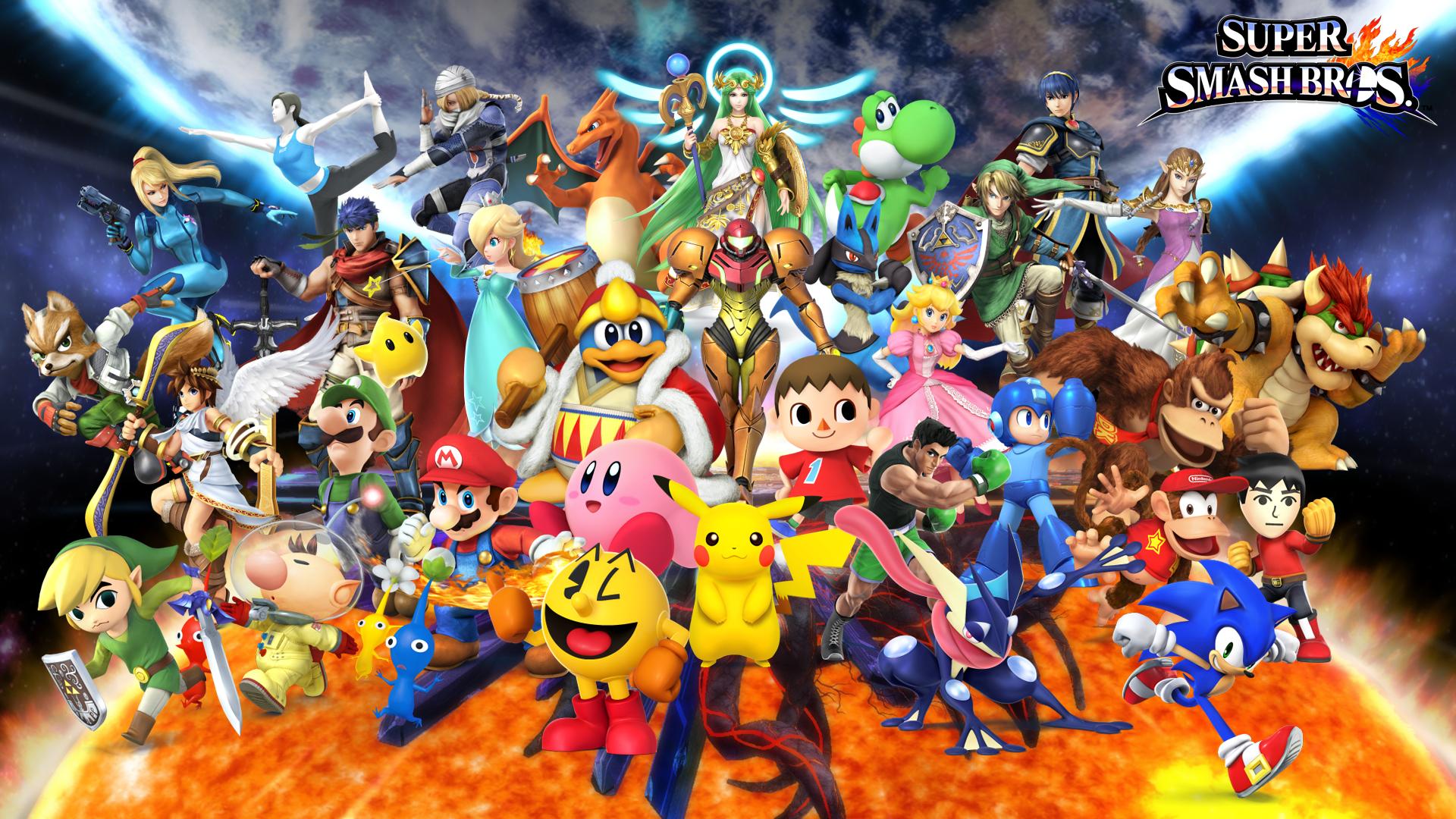Smash Bros 4 Wallpaper - WallpaperSafari