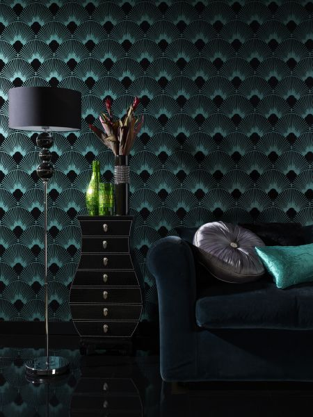 Art Deco Wallpaper   Inspired By 1920s Glamour 450x600