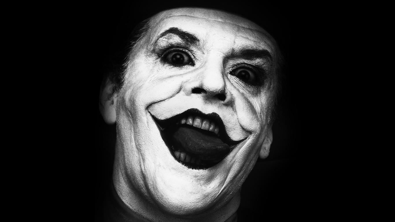 Jack Nicholson as The Joker   1366x768   Wallpaper 4336 1366x768