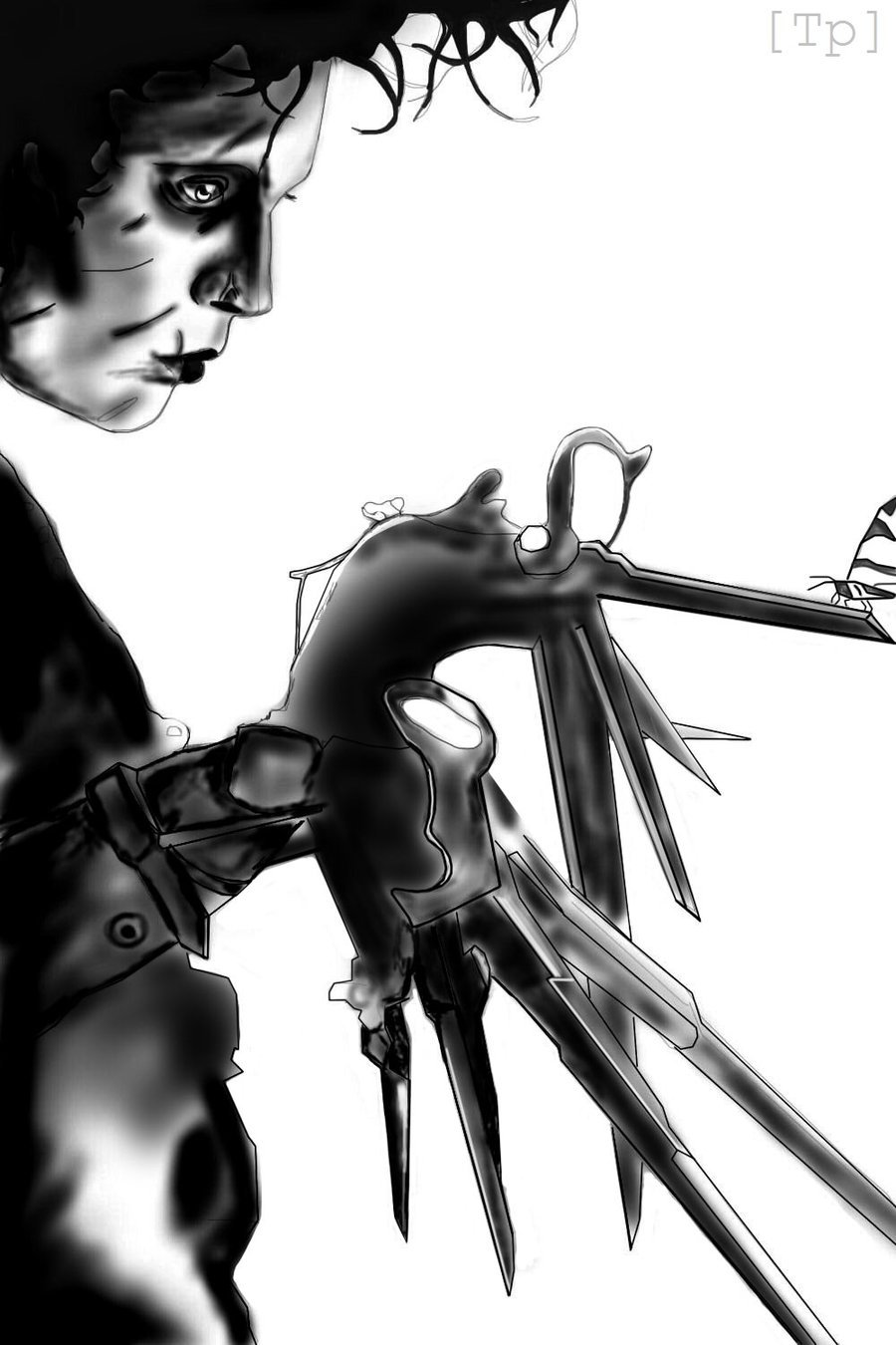 Free Download Edward Scissorhands By Tinklepiss 900x1350 For