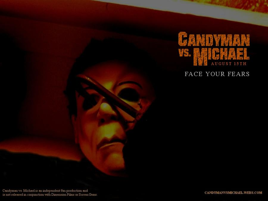 Candyman vs Michael Wallpaper 1 by CaptainKukule 900x675