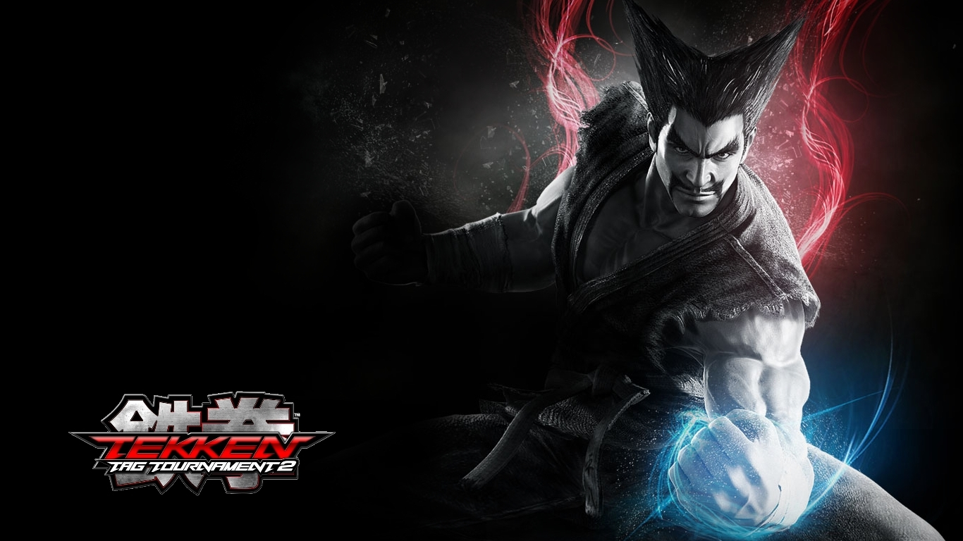Heihachi Mishima Tekken Tag Tournament 2 Game Wallpaper 1366x768