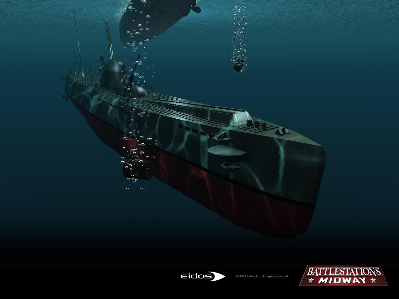 Submarine   Battlestations Midway Wallpaper Submarine Wallpaper 1280x960