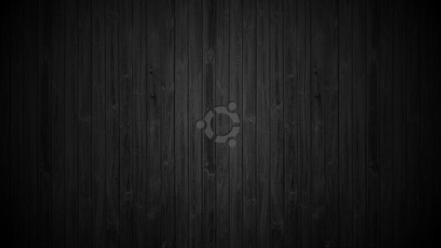 Ubuntu Wallpaper Dark Wood by Mokkujin on deviantART 900x506