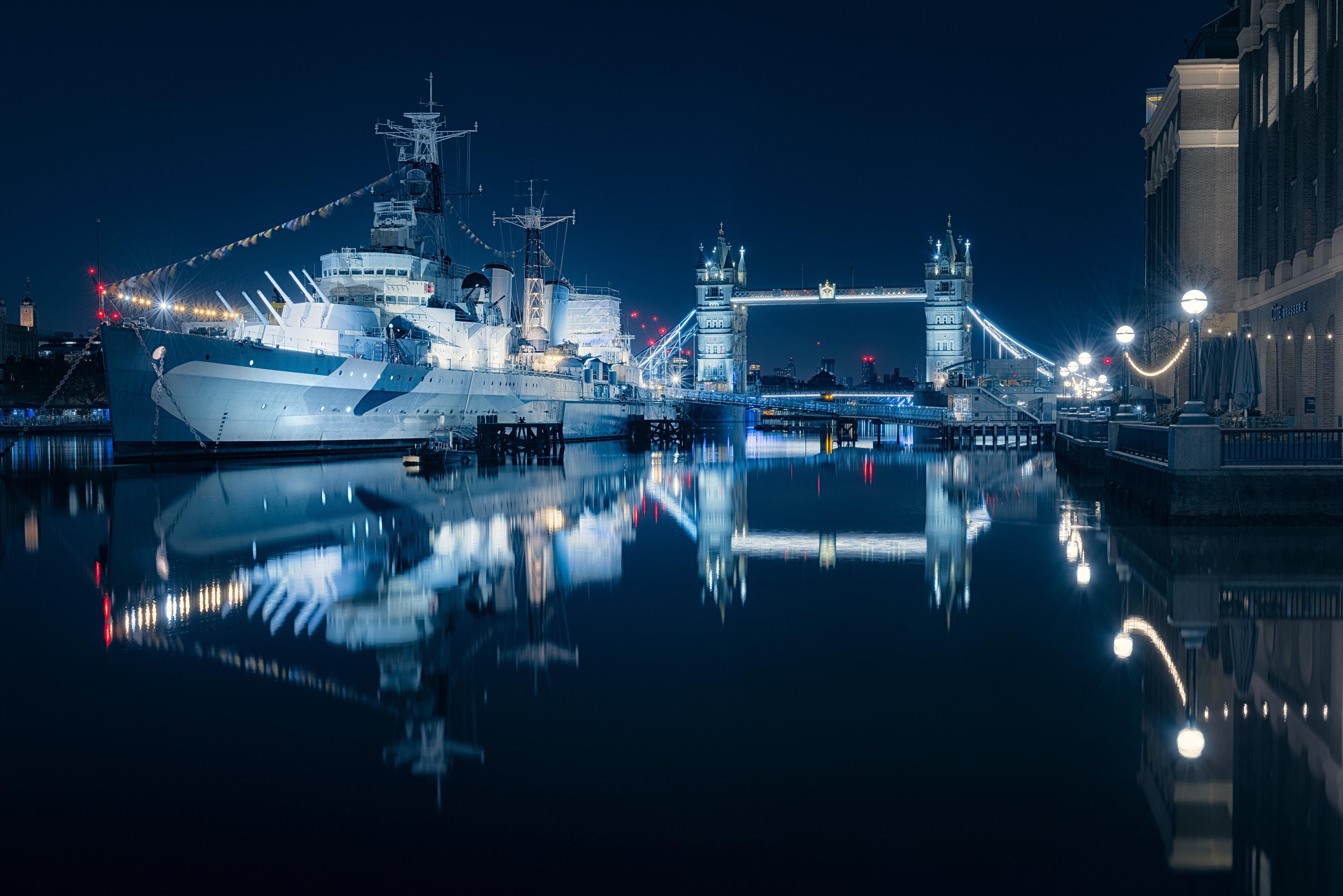 Tower Bridge 5k Retina Ultra HD Wallpaper Background Image 6885x4595