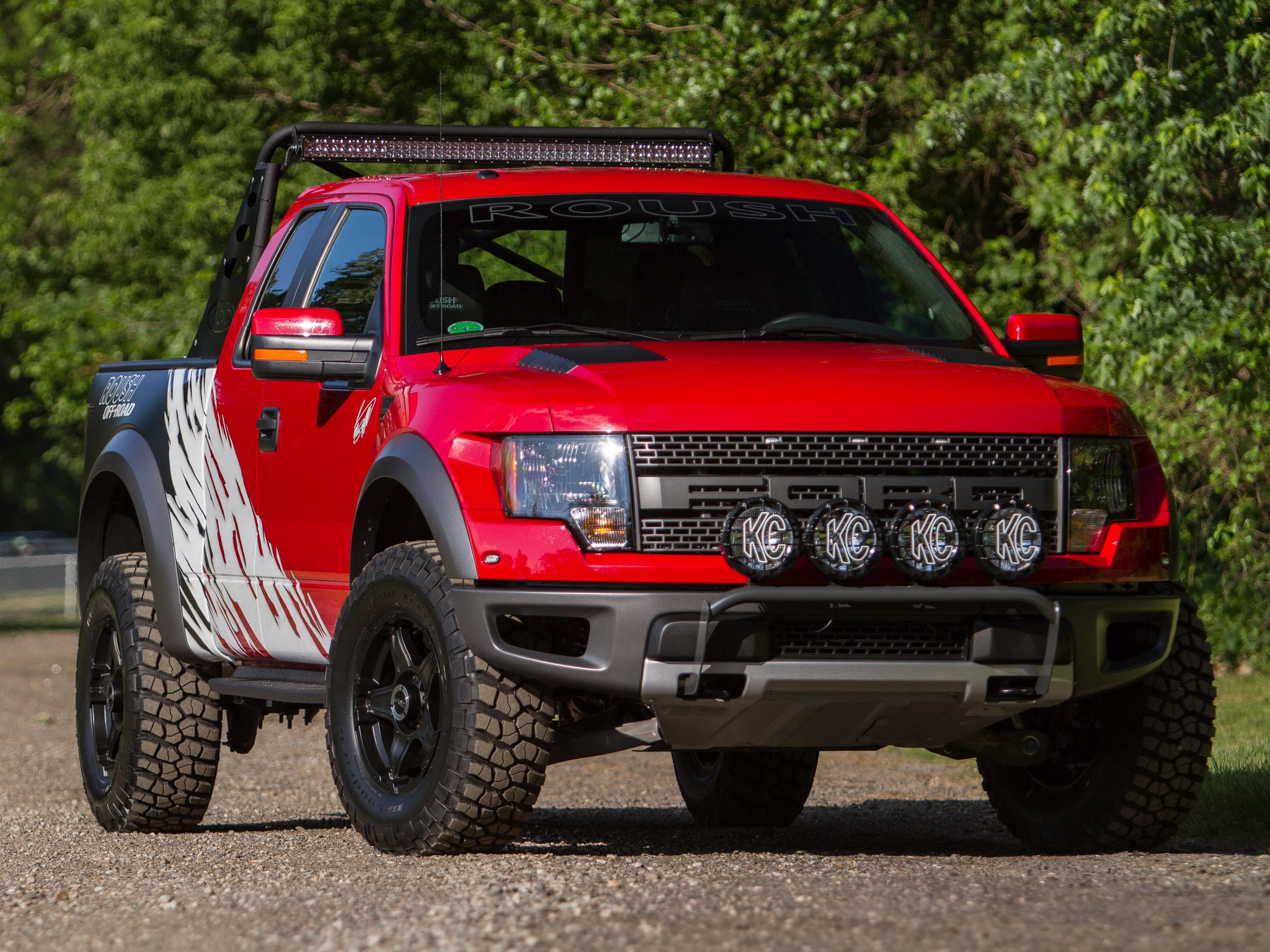 Roush Ford F 150 SVT Raptor 4x4 muscle truck g wallpaper background 2048x1536