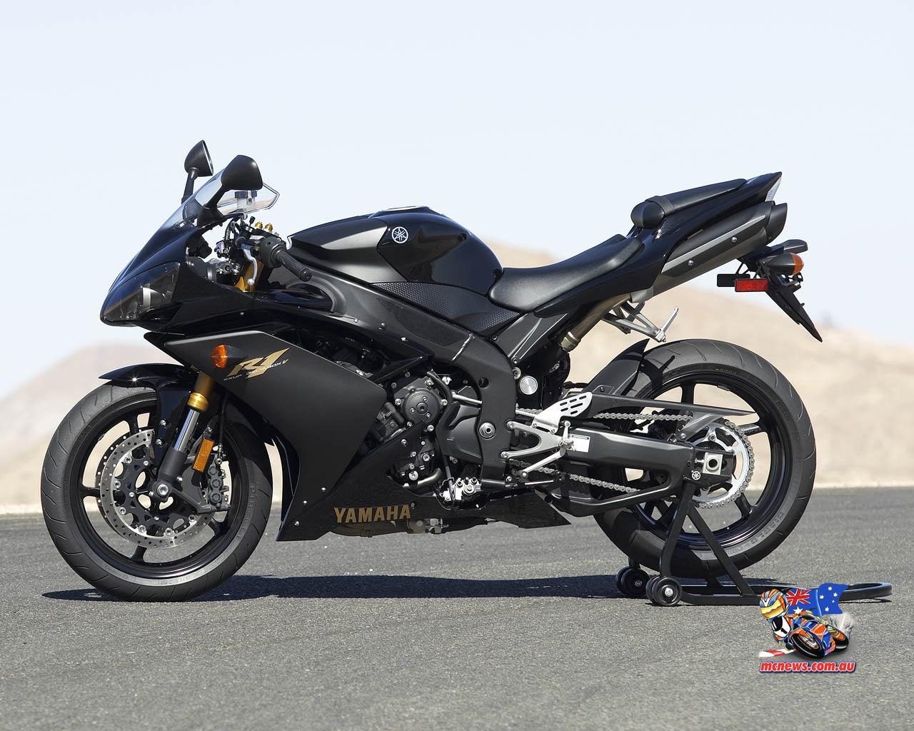 Black Yamaha R1 15573 Hd Wallpapers in Bikes   Imagescicom 1280x1024