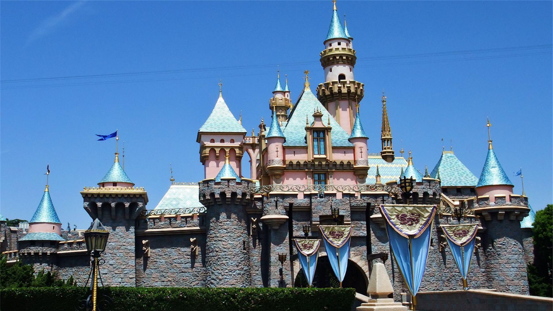 Disney Castle Wallpaper HD - WallpaperSafari