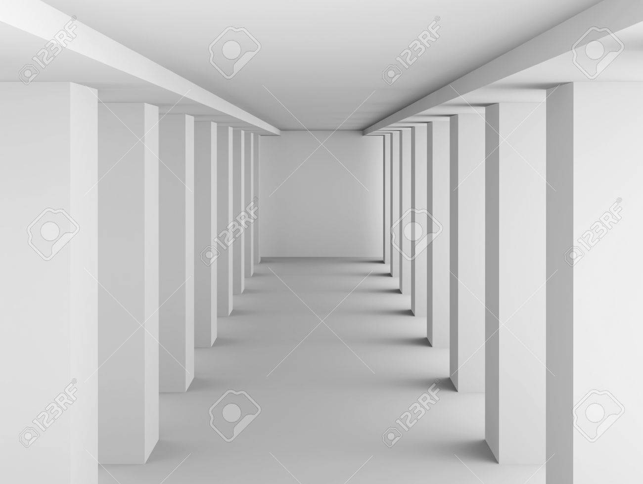 White Columns Hall Background Stock Photo Picture And Royalty 1300x979