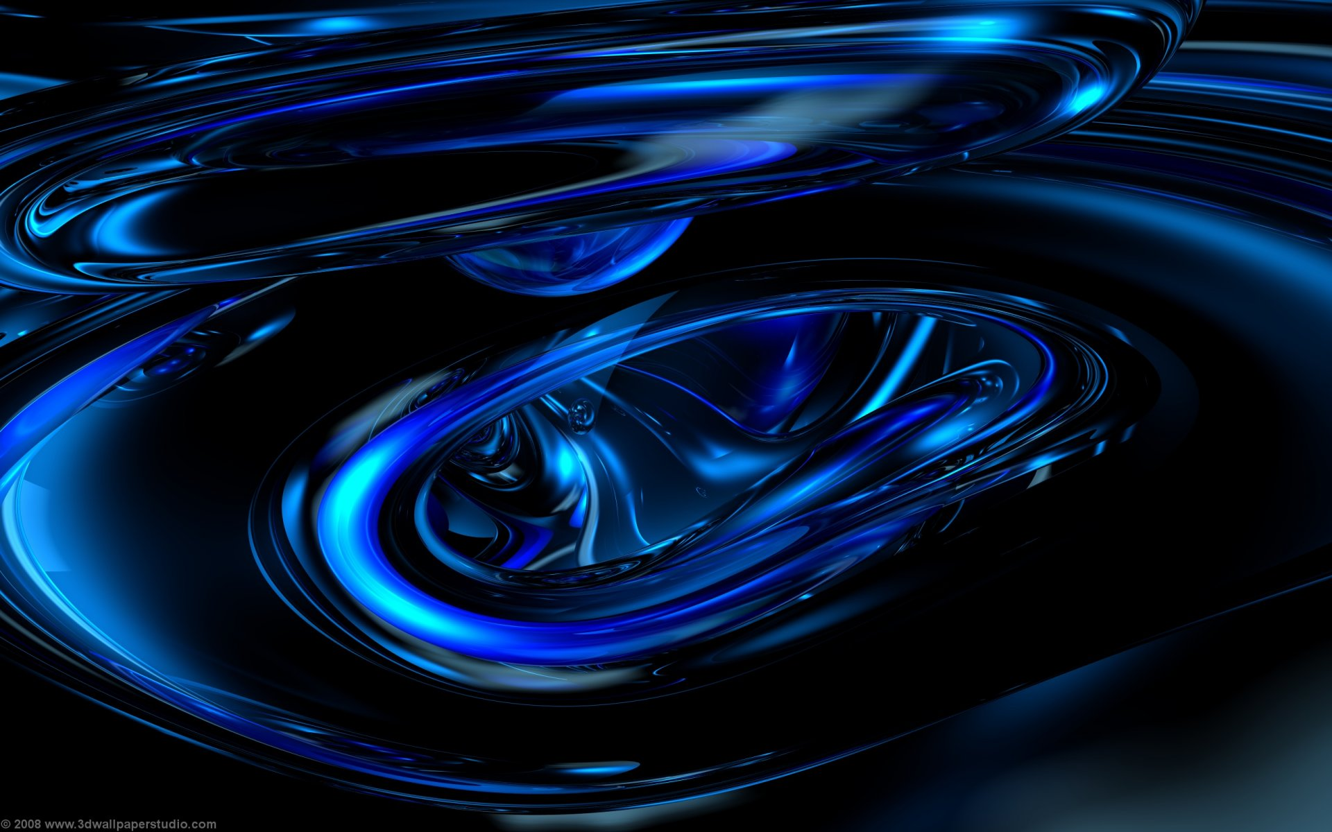 blue space wallpaper linux wallpapers 1920x1200 1920x1200