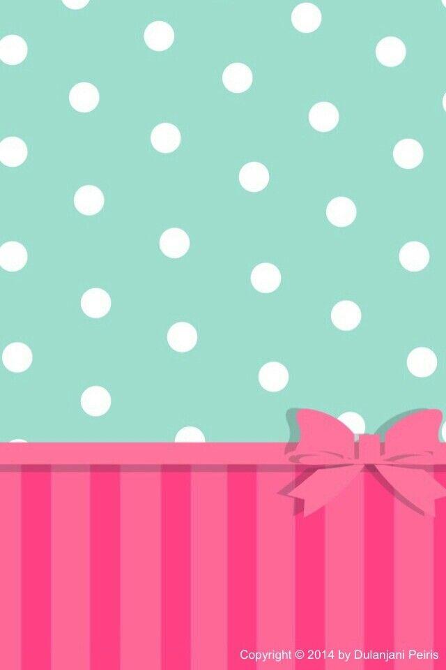 Polka dot wallpaper Cell phone wallpaper Pinterest 640x960