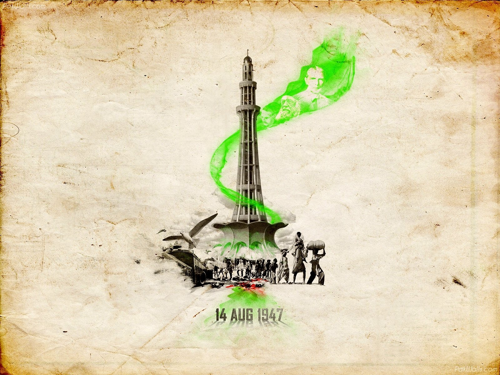 14 August Pakistan Independence Day Wallpapers 2012 Graphic 1600x1200
