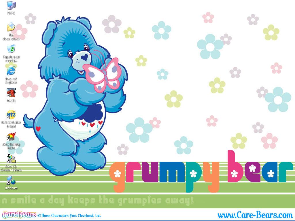 Free download Grumpy Bear Desktop by bunnyfriend on deviantART