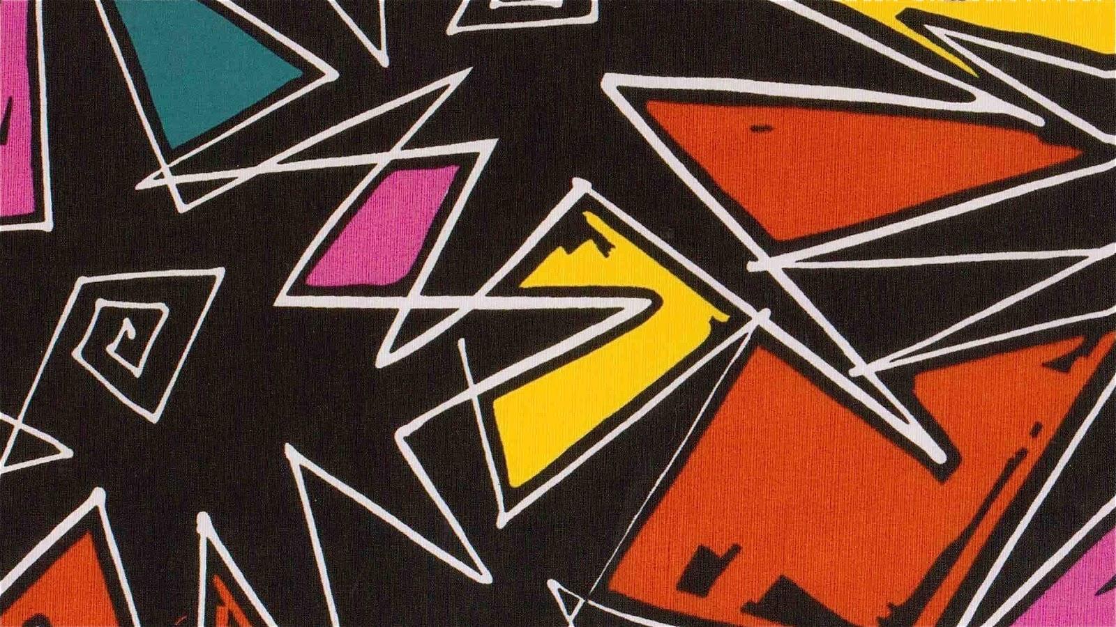 80s Wallpaper Designs Print design pow 1600x900