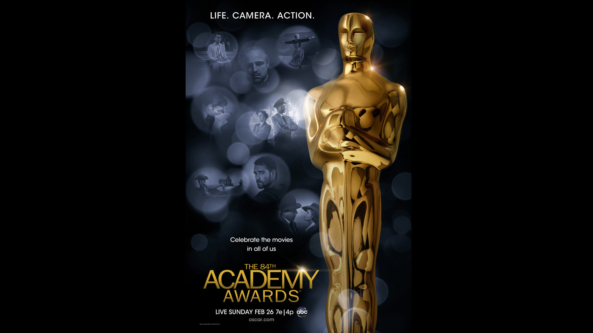 Academy Poster Celebrates the Movies   Oscars 2020 News 92nd 1920x1080