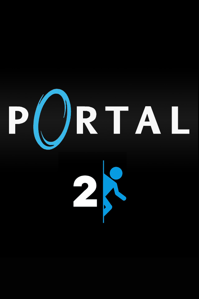 Portal 2 iPhone Wallpapers HD iPhone Wallpaper Gallery 640x960