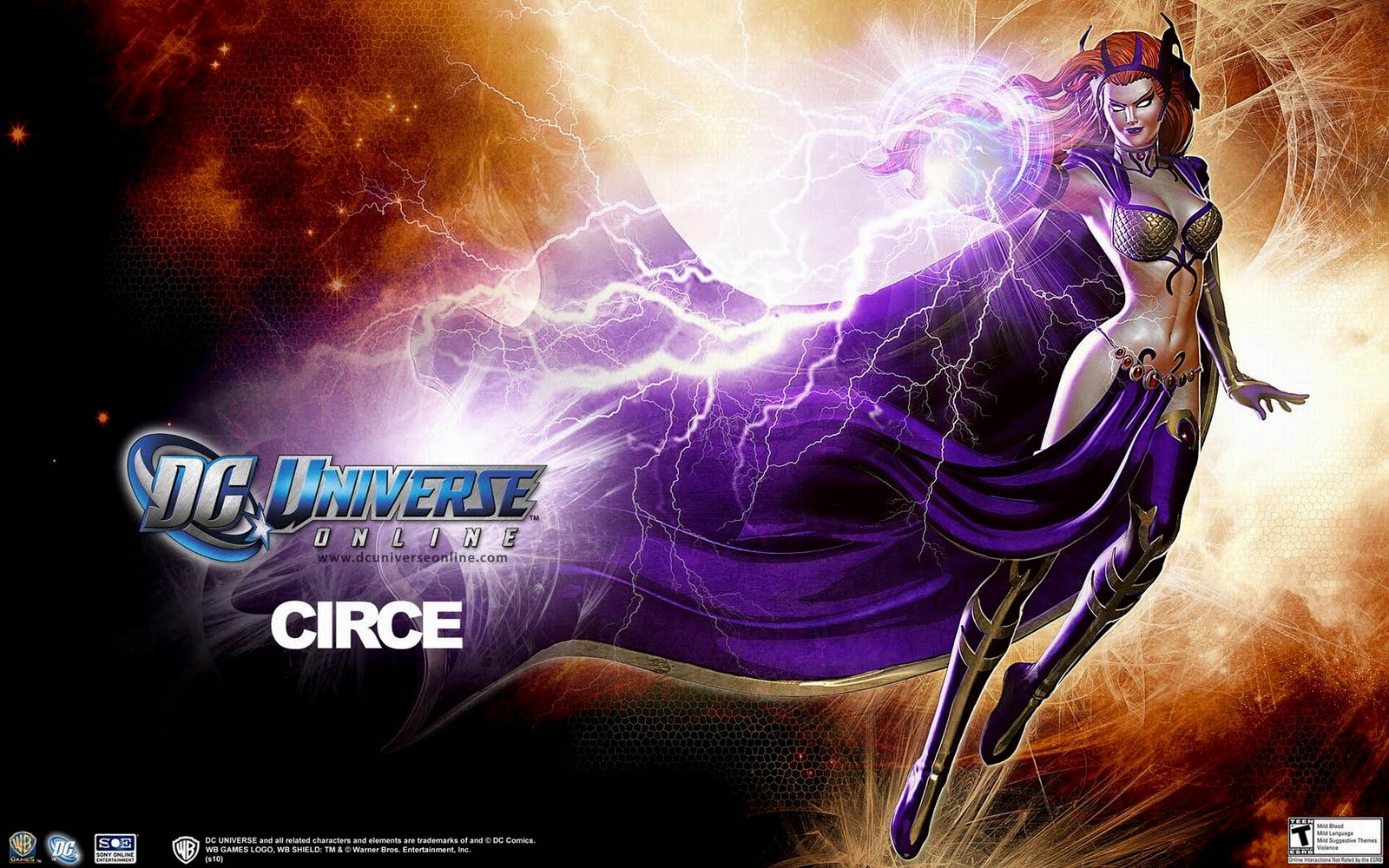 DC Universe Online Logo Characters HD Wallpapers Download 1600x1000