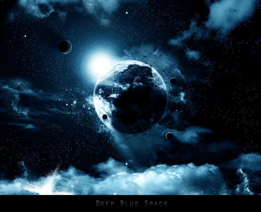 3d space blue desktop wallpaper 3d space uploaded by drmyk on 900x729