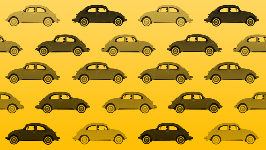VW Beetle Wallpaper   Yellow by vw beetle 900x506
