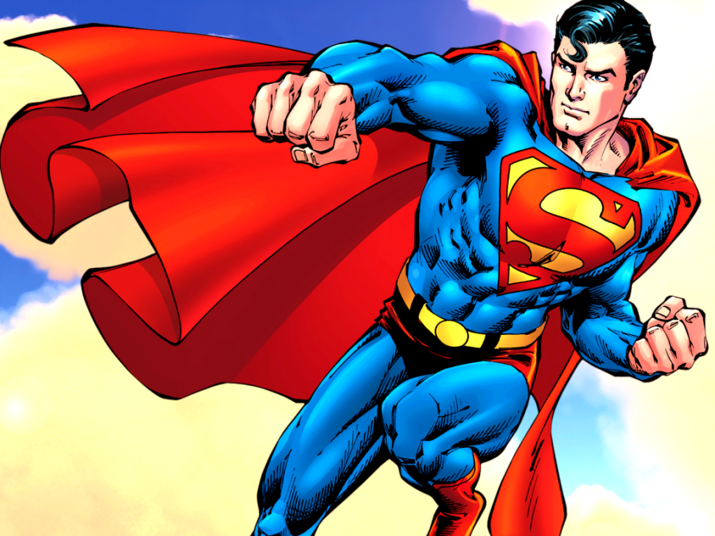 1024x768 Superman desktop PC and Mac wallpaper 1024x768