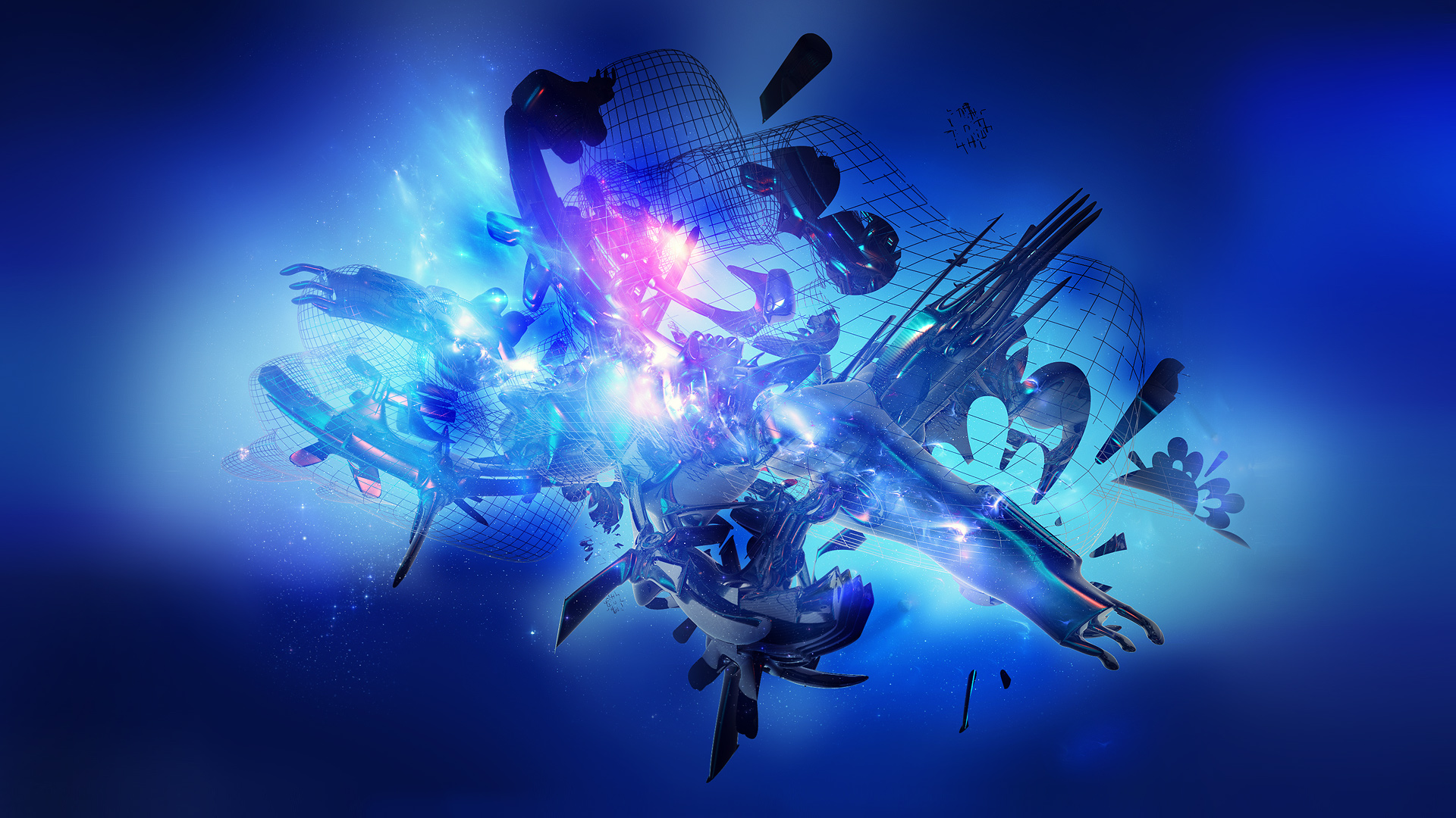 1920x1080px Abstract Blue Wallpaper 1920x1080