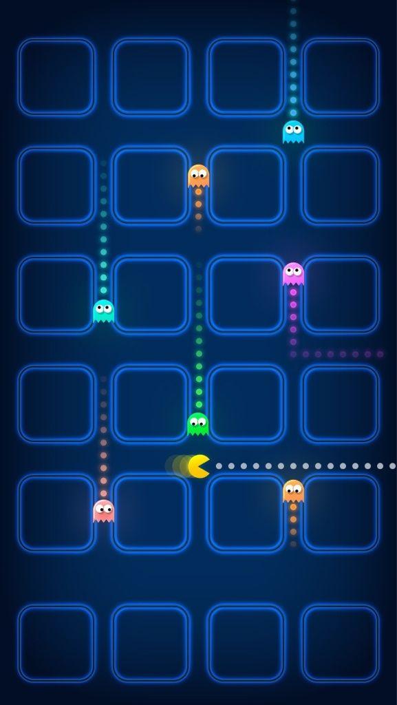 Marvelous Pac Man IPhone 5 Wallpaper IPhone Prettiness Pinterest 577x1024