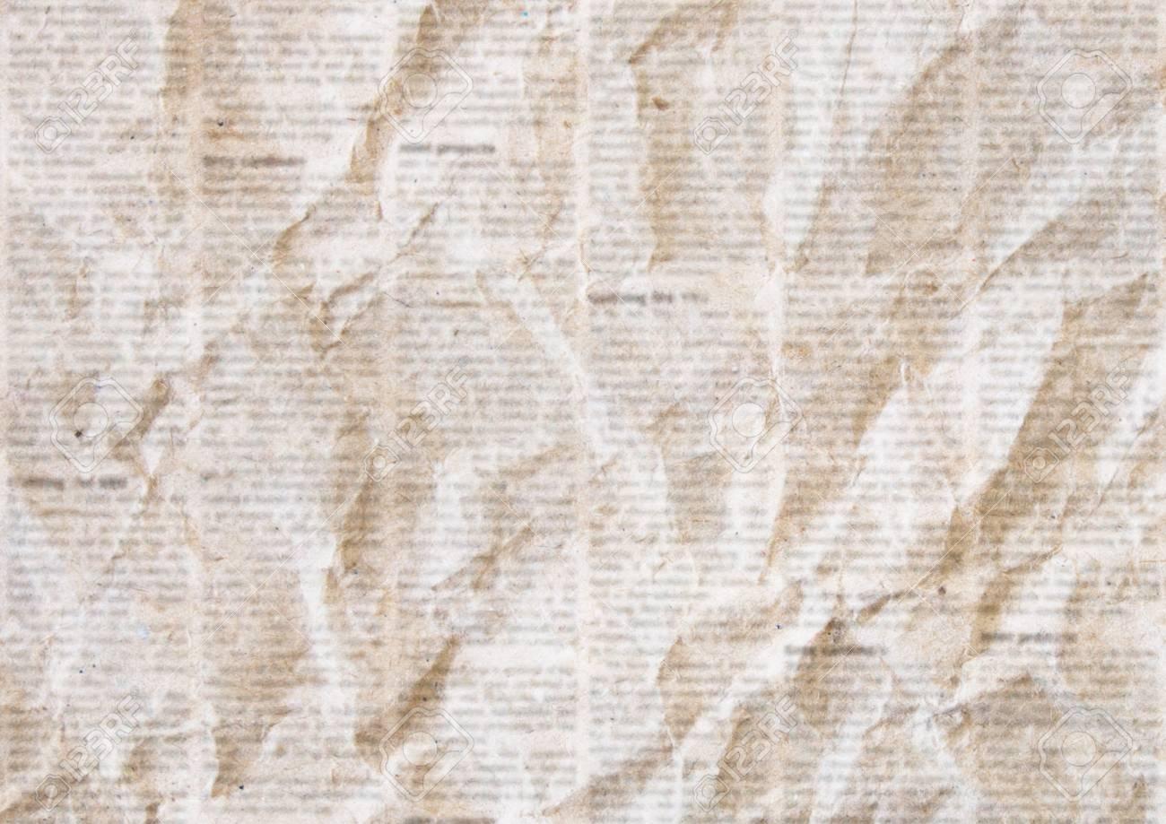 Old Crumpled Grunge Newspaper Paper Texture Background Blurred 1300x919