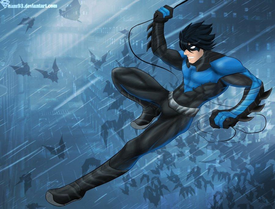 Nightwing by shamserg 900x684