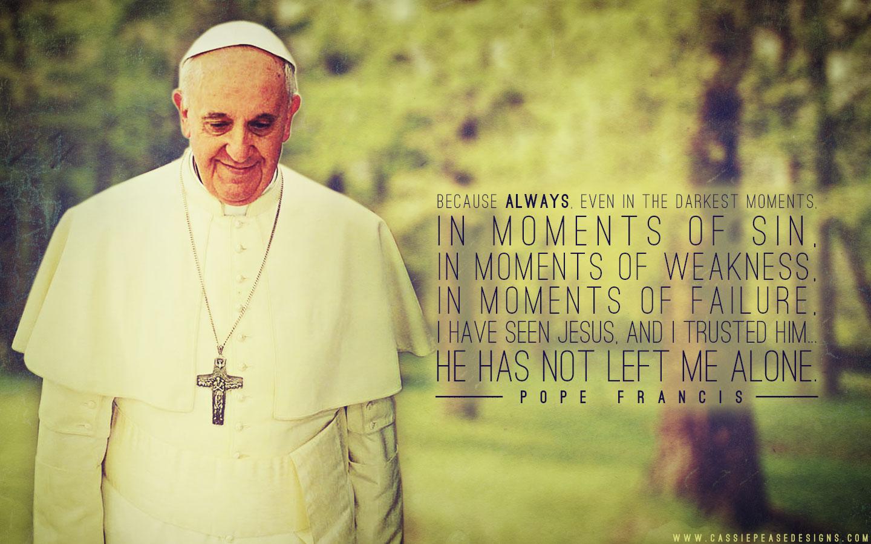 Pope Francis green Desktop Wallpaper Cassie Pease Designs 1440x900