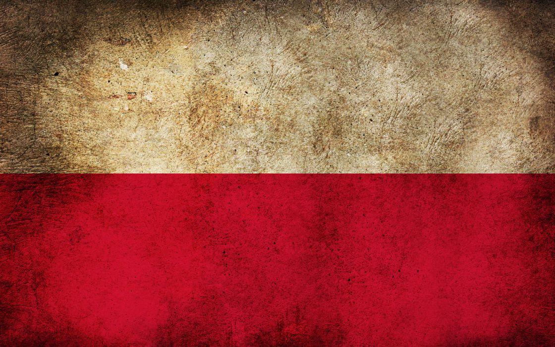 Red white grunge flags polish poland wallpaper 1920x1200 11948 1120x700