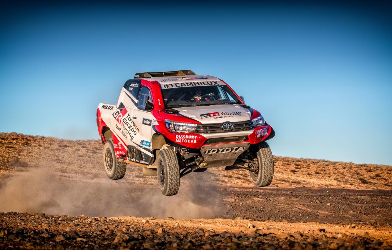 Wallpaper Auto Sport Machine Speed Race Toyota Hilux Rally 1332x850