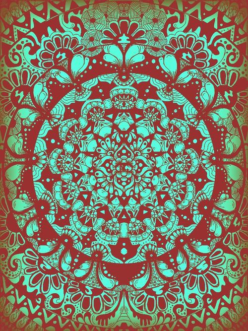 mandala background Tumblr 500x667