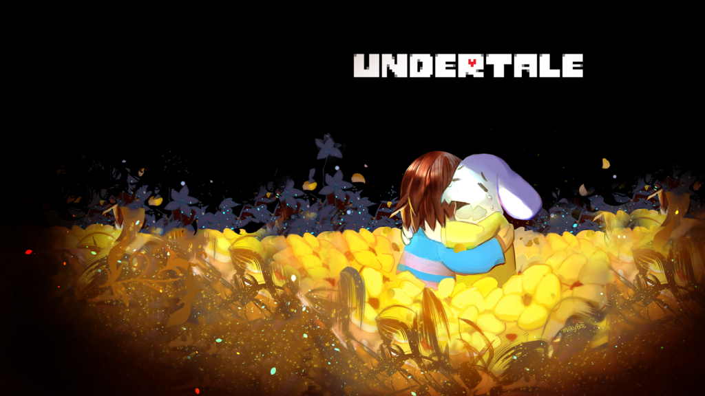 Undertale SPOILER 1080p wallpaper by milkybee 1024x576