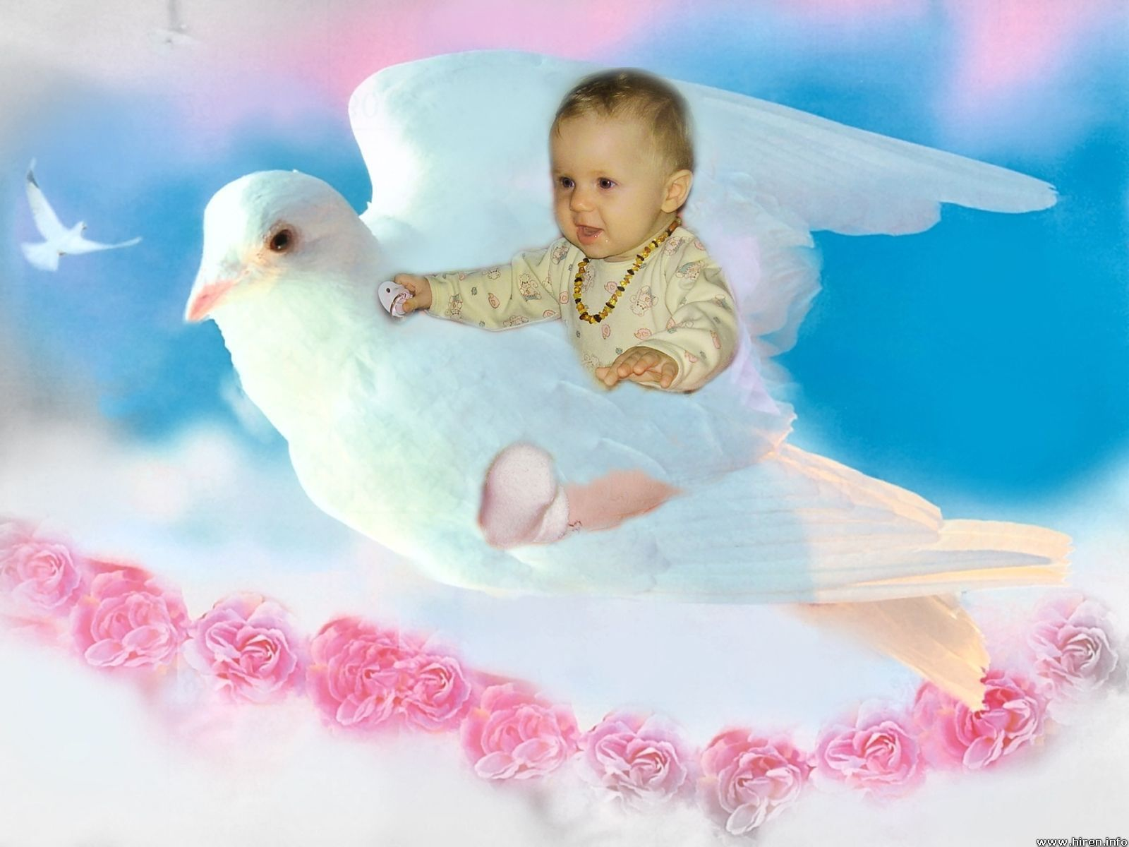 Baby Love Wallpaper Cute Babies And Angel 1600x1200