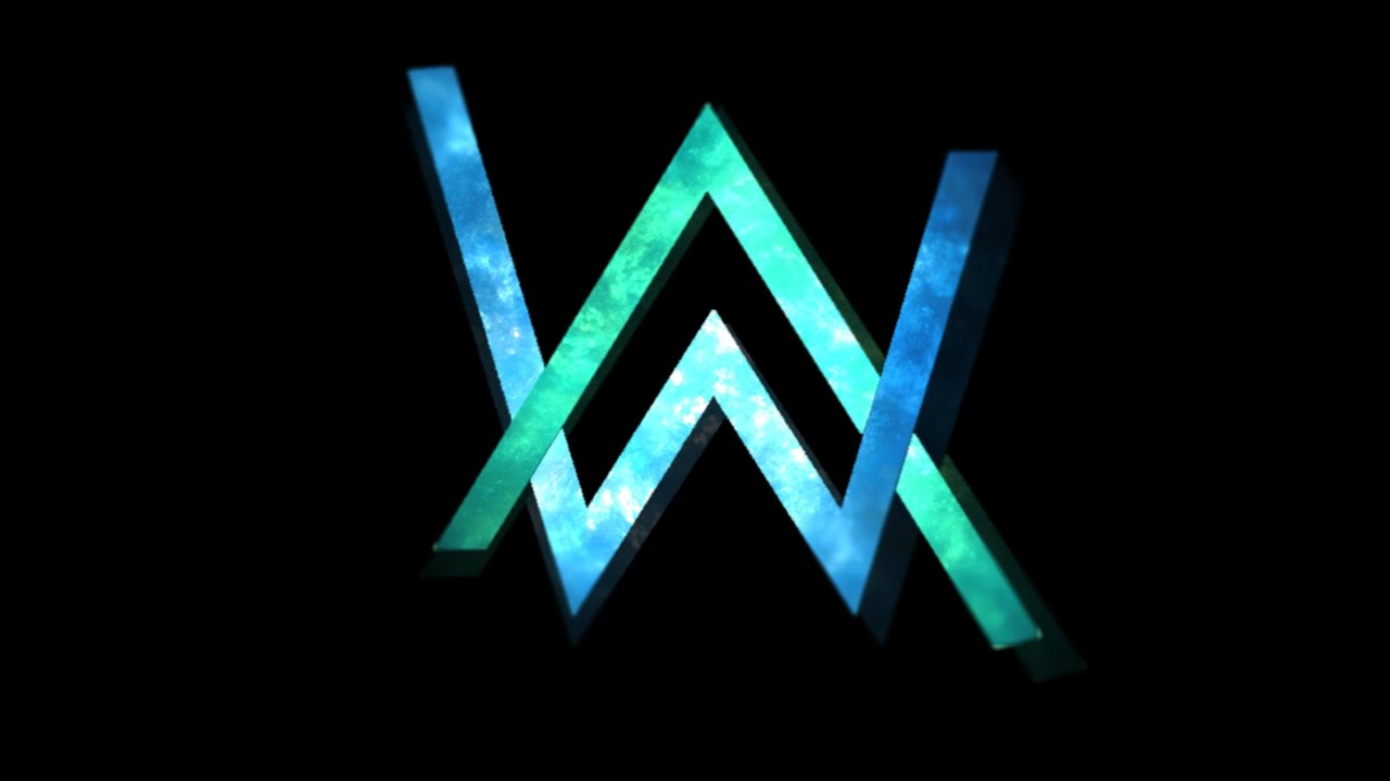 Alan Walker Logo Wallpapers 1280x720