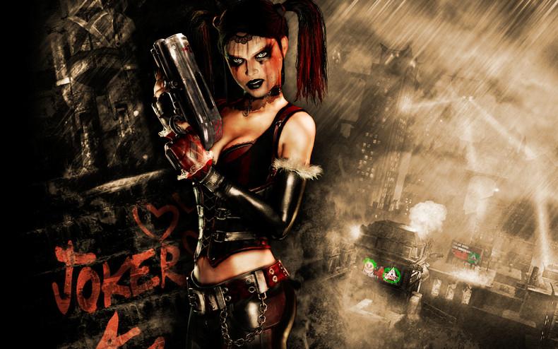 Harley Quinn   Batman Arkham City Wallpaper theVideoGameGallerycom 790x494