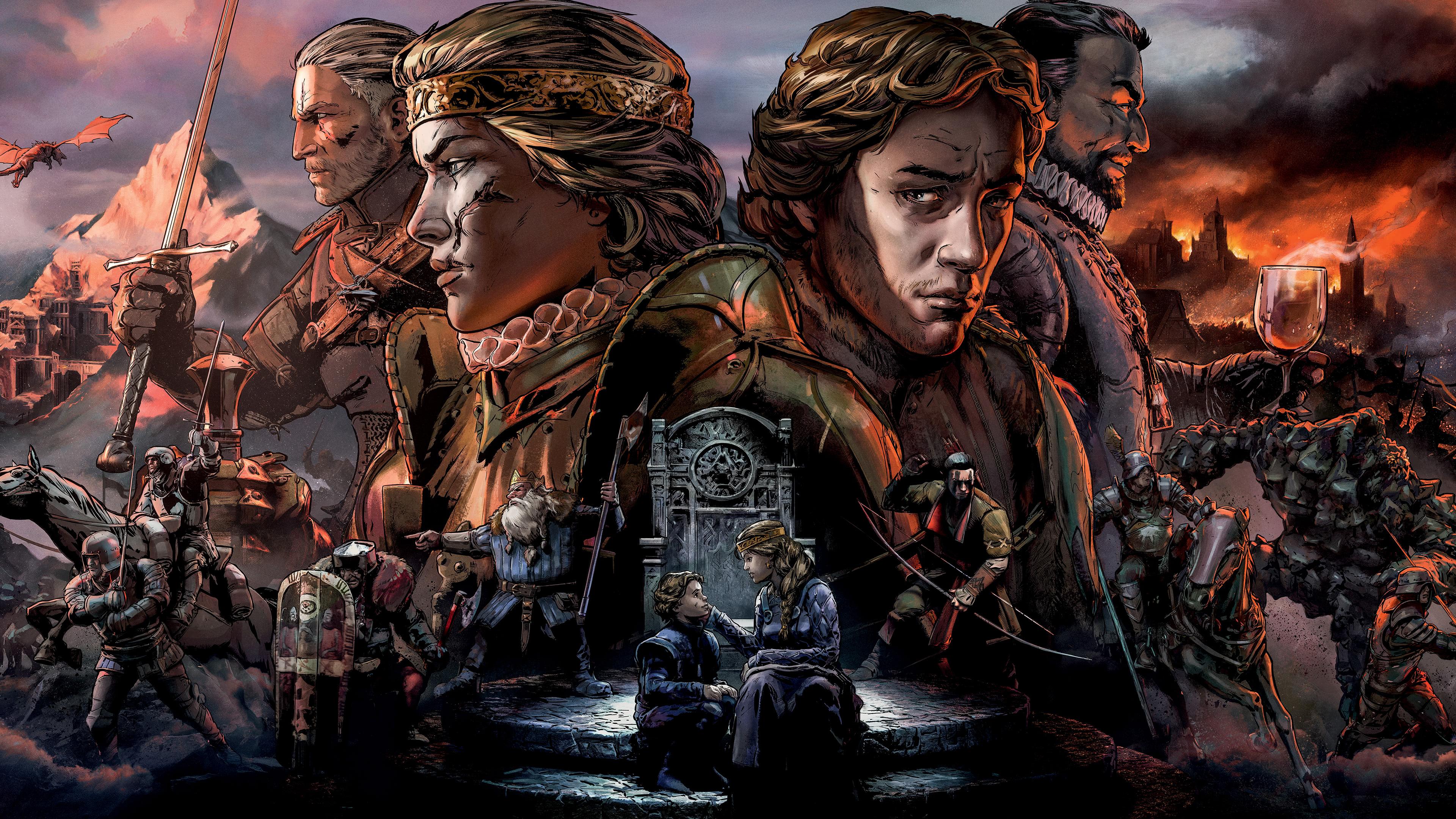 Thronebreaker The Witcher Tales UHD 4K Wallpaper Pixelz 3840x2160