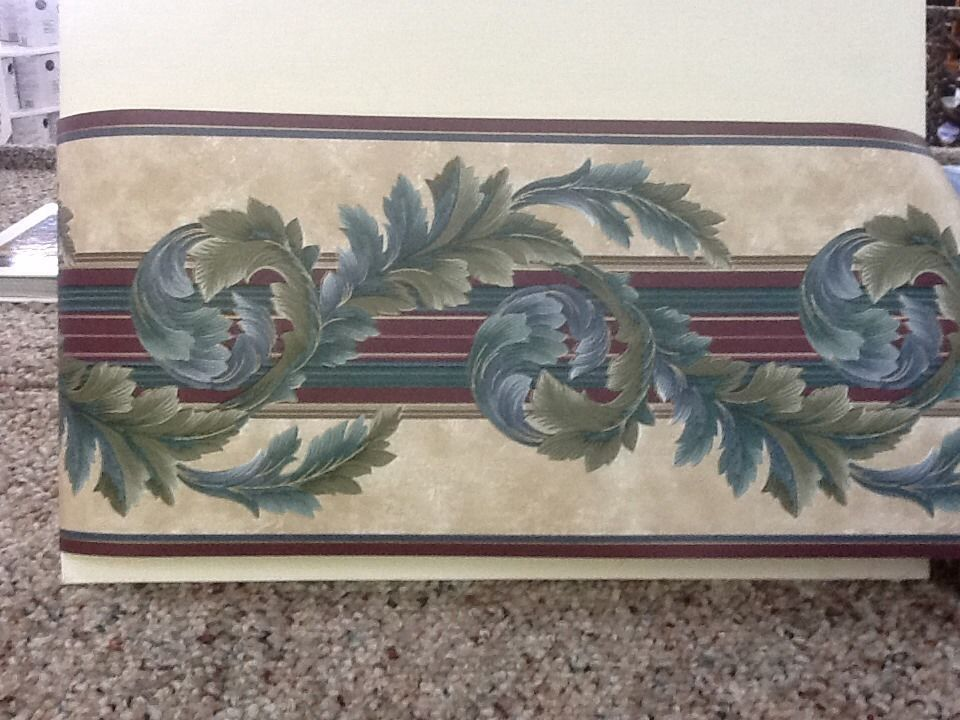 Free Download Acanthus Scroll Wallpaper Border Ebay 960x720 For